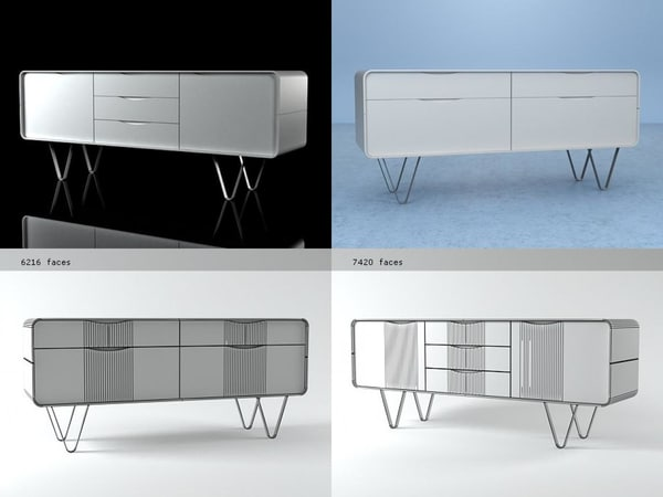 3D cemia sideboards