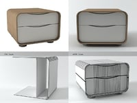 3D cemia bedside tables