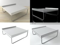 3D hyannis port coffee table