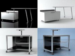 desks 3D model