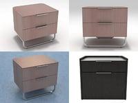 hyannis port bedside tables 3D