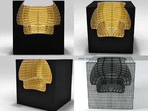 sos sofa solitude 3D model