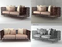 3D yin yang sofa