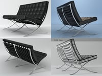 seat knoll 3D model
