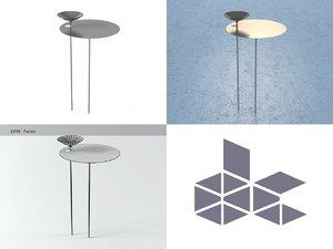 gardener s table 3D model