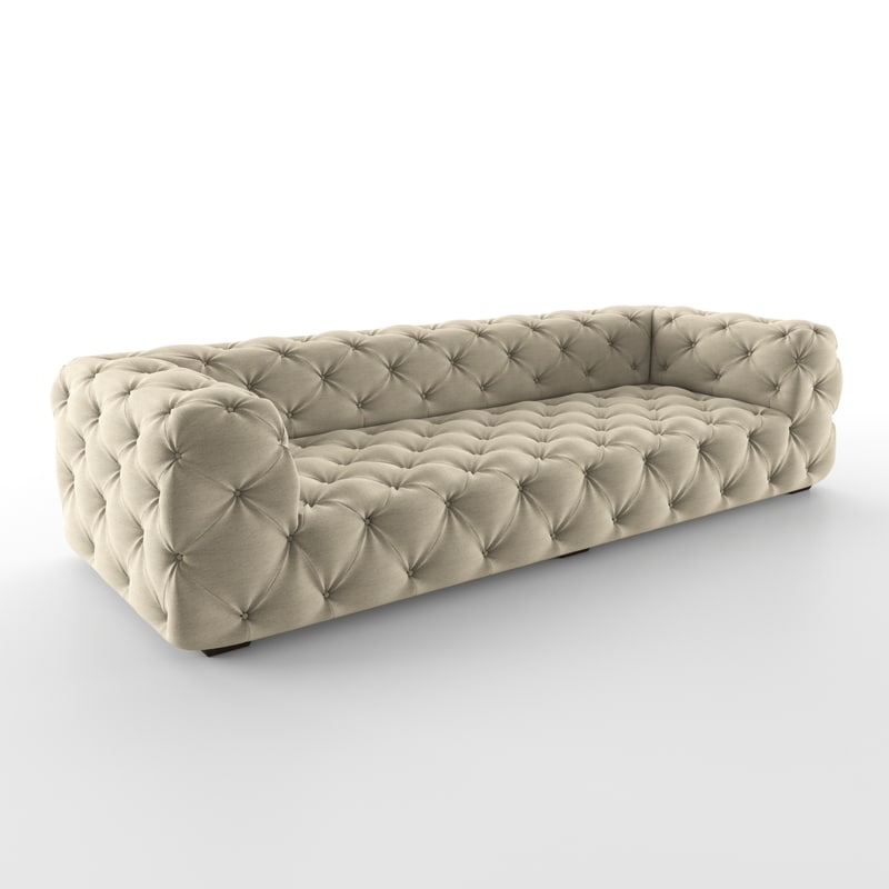 3D Soho Tufted Upholstered