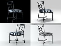 3D barcelona dining chair