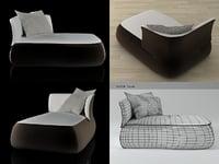 fat sofa fs150ld 3D model