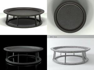 3D obi ii coffee table