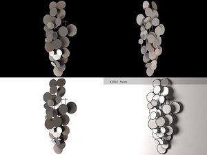 metal wall sculptures 3D model