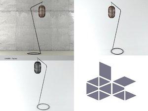 kai z lamp 3D model