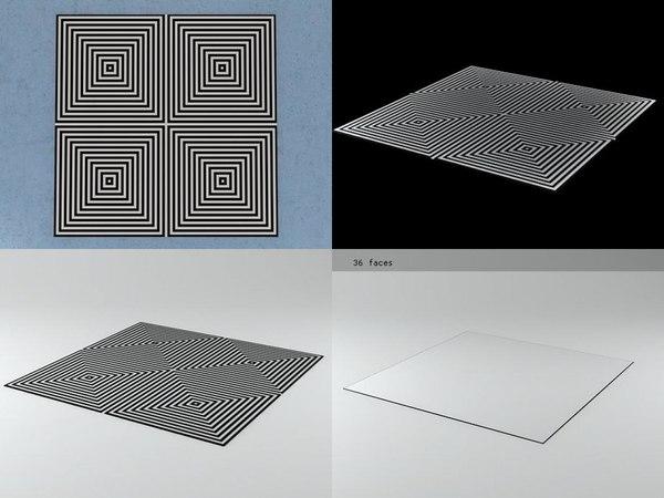 3D carpet vp