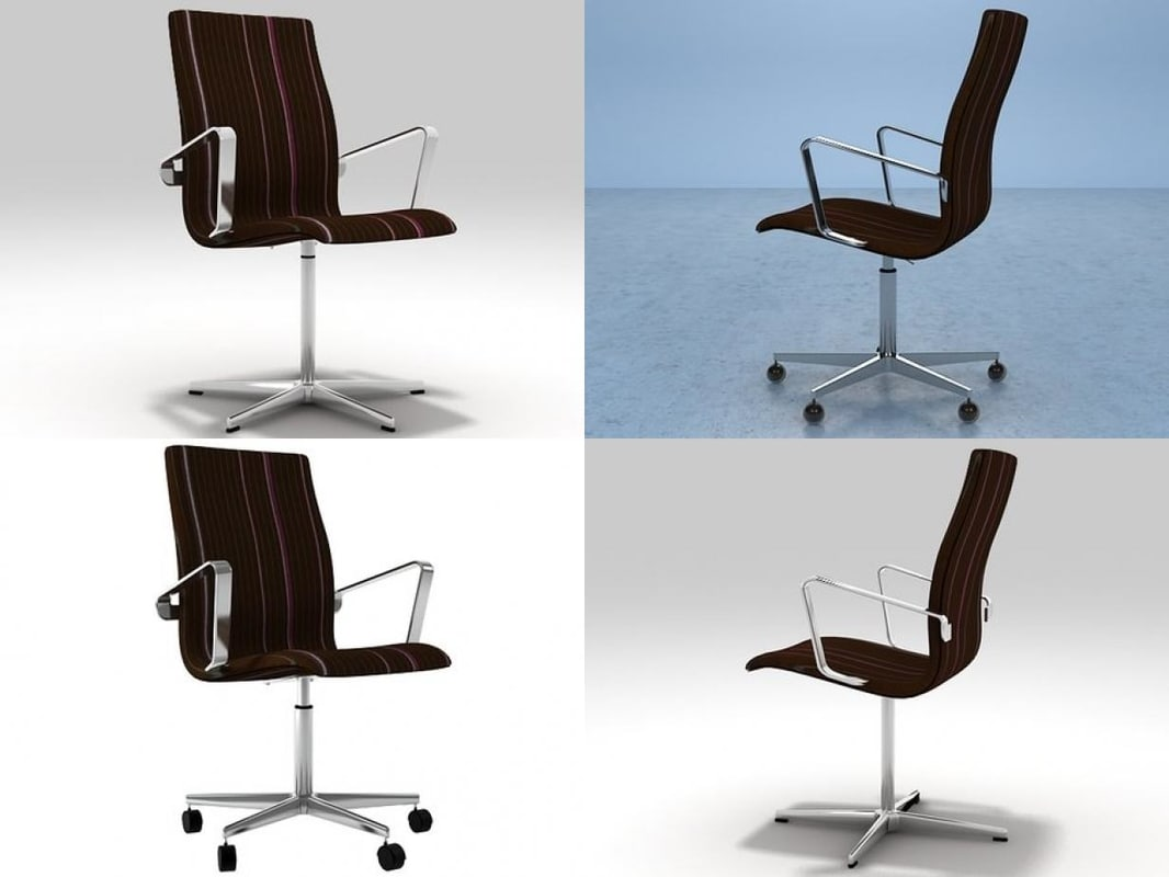 3D model oxford backrest