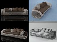 3D lolah sofa