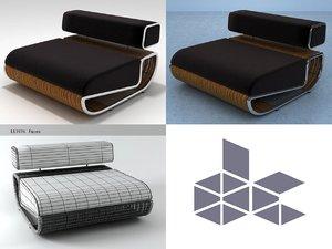 3D tambao sofa