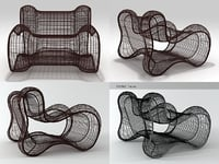3D pigalle easy armchair