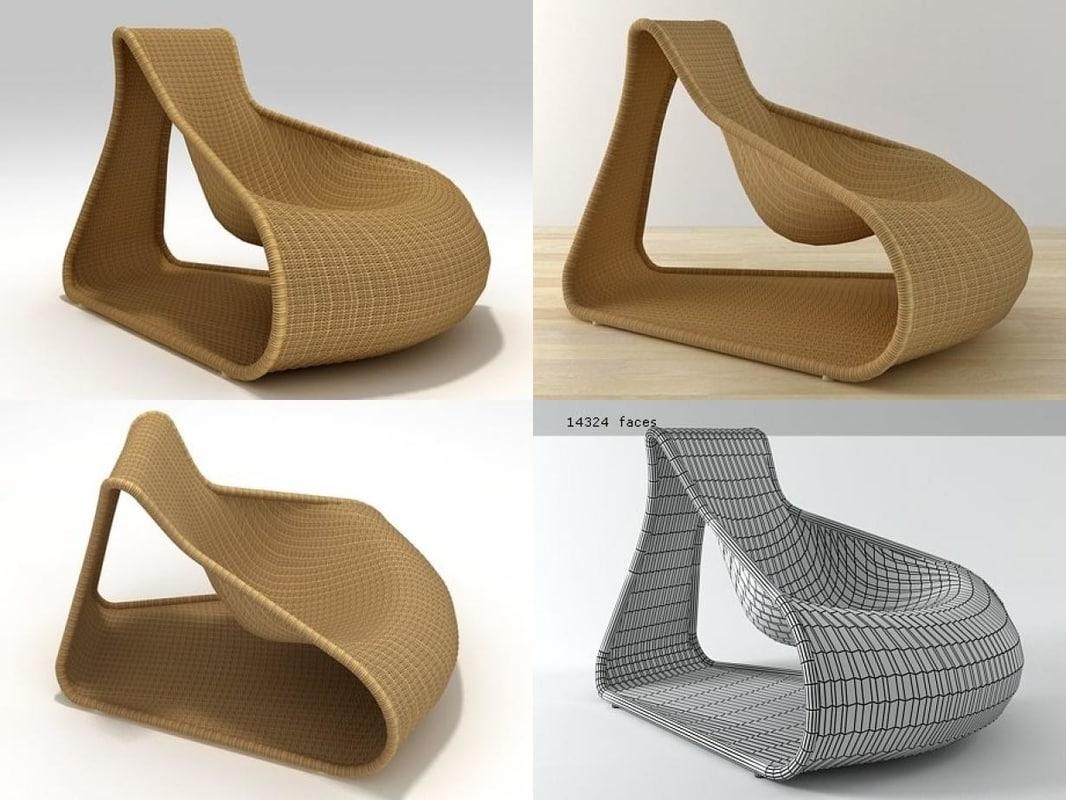 agung driade 3D model