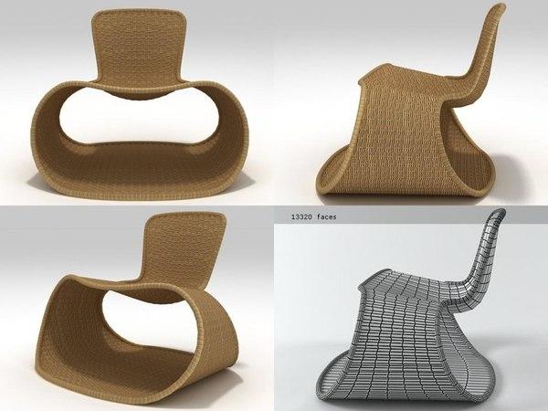 3D model sari driade