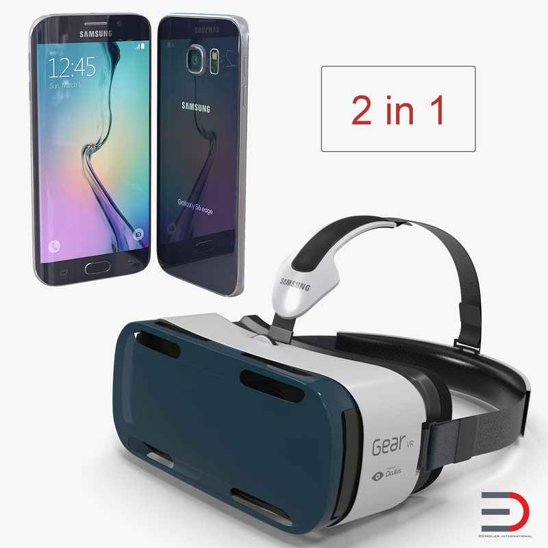 samsung gear vr s6 3D model