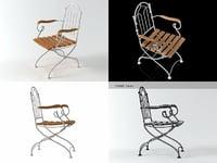 3D vienna armchair