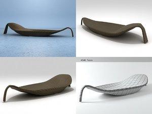 leaf xs 3D model