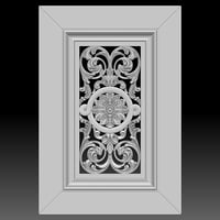 carved facade cnc machines model