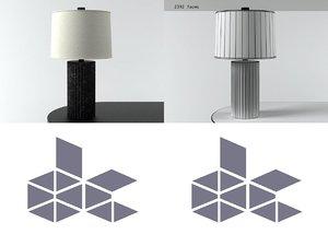 fluted flask lamp ml1016 model