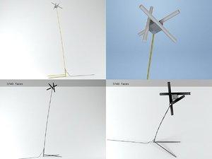 olvidada floor lamp 3D