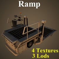 ramp dnata basic 3D model