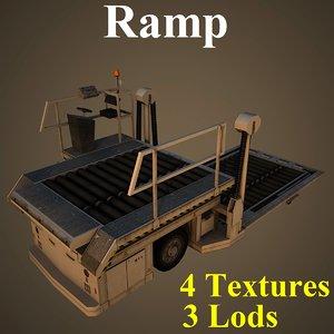 ramp dnata basic 3D model