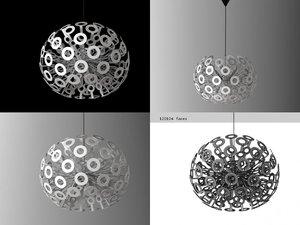3D dandelion moooi model