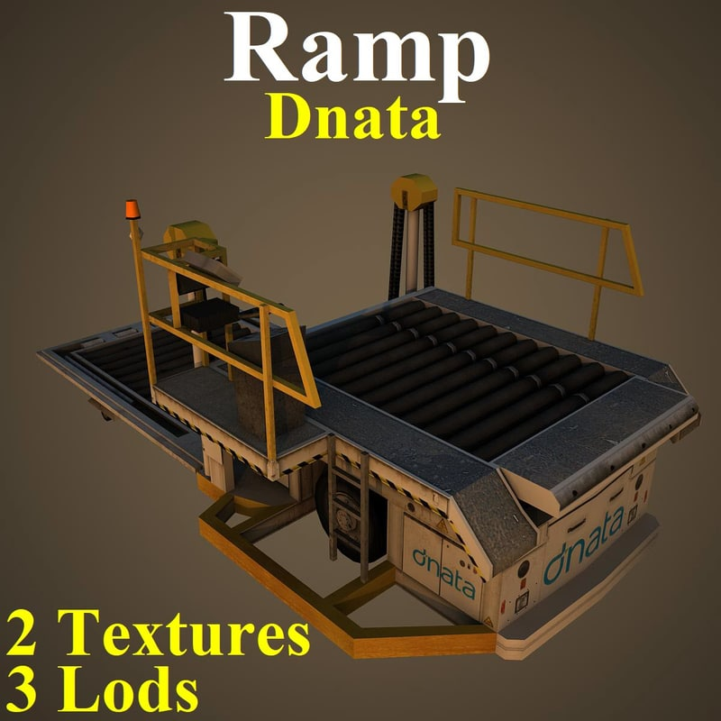 3D ramp dna