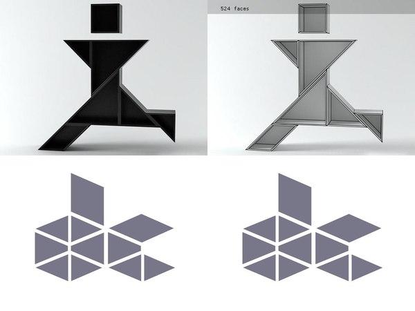 tangram 10 3D