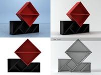 3D tangram 1 model