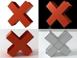 bukan mox 3D model