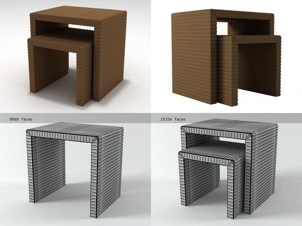 ping pong 3D model