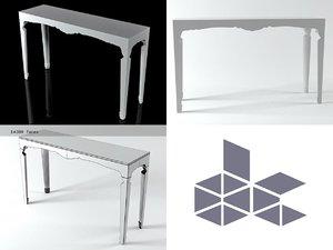 dessouschic console table 7435 3D model