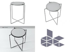 table scp 3D model