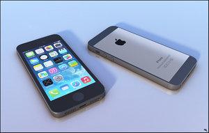 iphone 5 phone 3D model