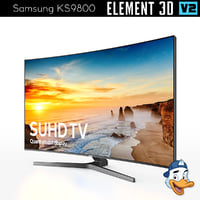 3D samsung ks9800 element