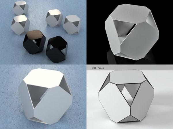 dado 3D model
