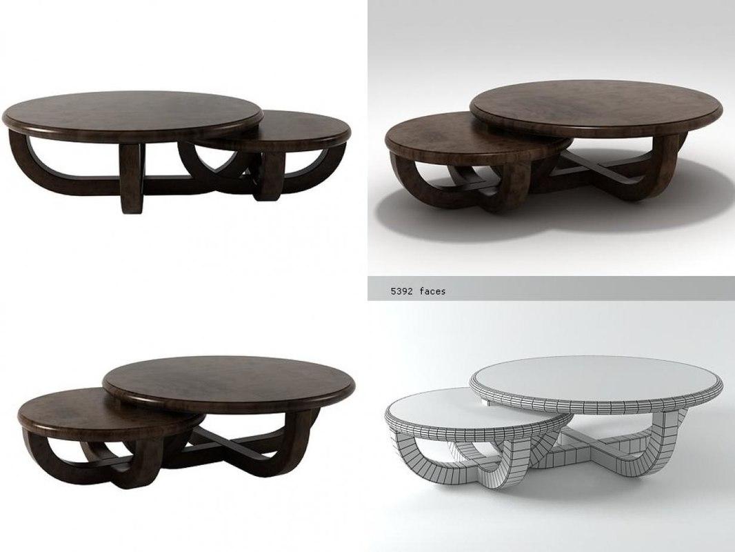 ebonize coffee table 3D model