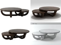 ebonize coffee table 3D model