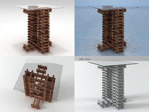 retaso end table 3D model