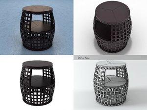 matilda end table 3D model