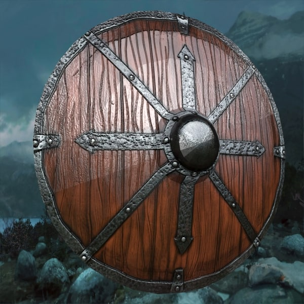 shield viking 3D