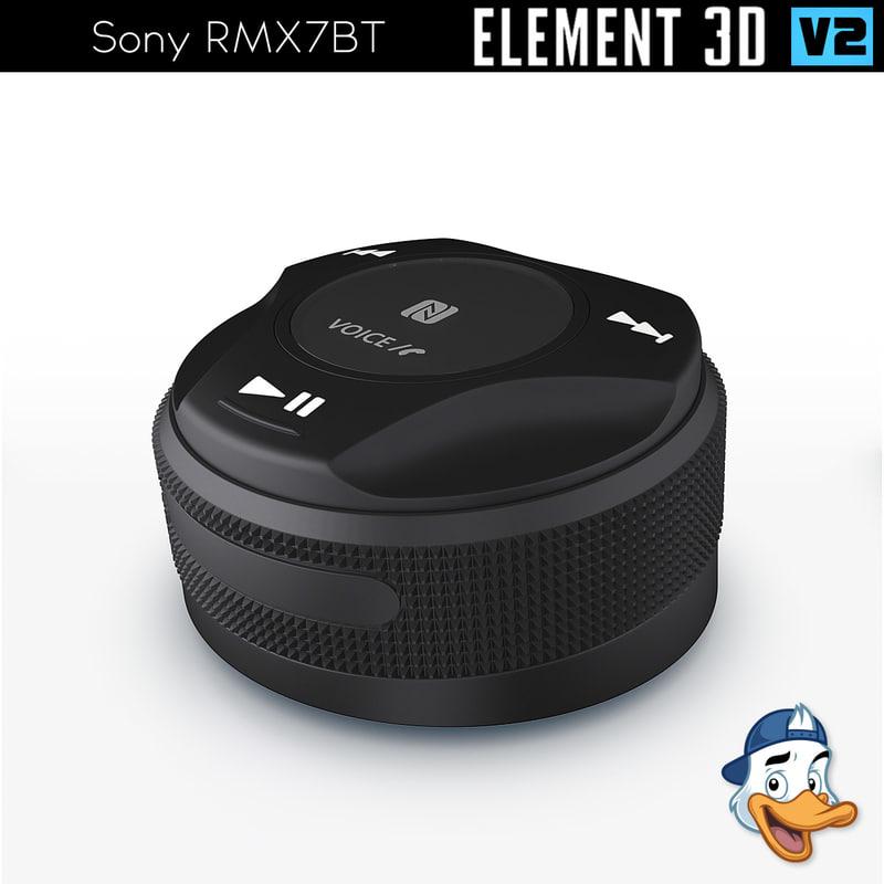 3D sony rmx7bt element