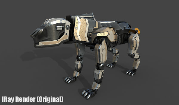 3D predator iron model