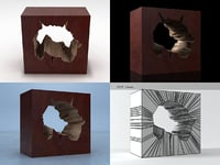 slice table 3D model