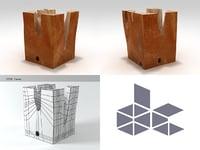 table base 3D model